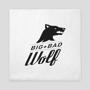 B&W Big Bad Wolf Queen Duvet