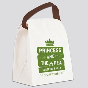 Princess & the Pea Since 1835 Canvas Lunch Bag