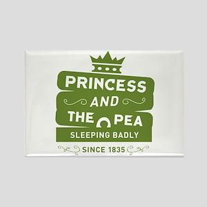 Princess & the Pea Since 1835 Rectangle Magnet