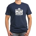 Princess & the Pea Since 1835 Men's Fitted T-Shirt