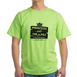 Princess & the Pea Since 1835 Green T-Shirt