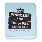 Princess & the Pea Since 1835 baby blanket