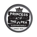 Princess & the Pea Since 1835 Wall Clock