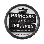 Princess & the Pea Since 1835 Large Wall Clock