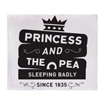 Princess & the Pea Since 1835 Throw Blanket