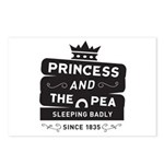 Princess & the Pea Since 1835 Postcards (Package o