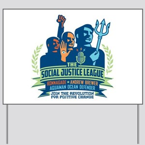 SJL Logo Yard Sign