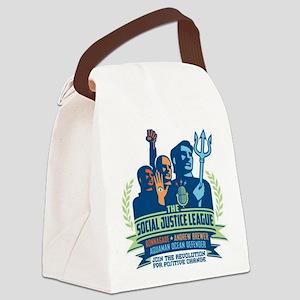 SJL Logo Canvas Lunch Bag