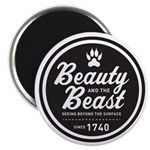 "Beauty and the Beast Since 1740 2.25"" Magnet"