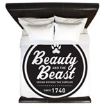 Beauty and the Beast Since 1740 King Duvet