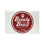 Beauty and the Beast Since 1740 Rectangle Magnet