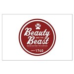 Beauty and the Beast Since 1740 Large Poster