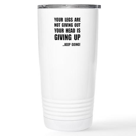 Keep Going Runner Travel Mug