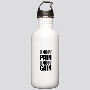 Know Pain Gain Water Bottle
