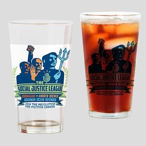 SJL Logo Drinking Glass