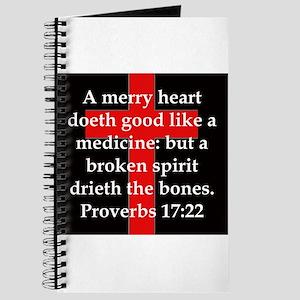 Proverbs 17-22 Journal