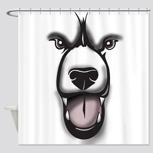 Bear Face Shower Curtain