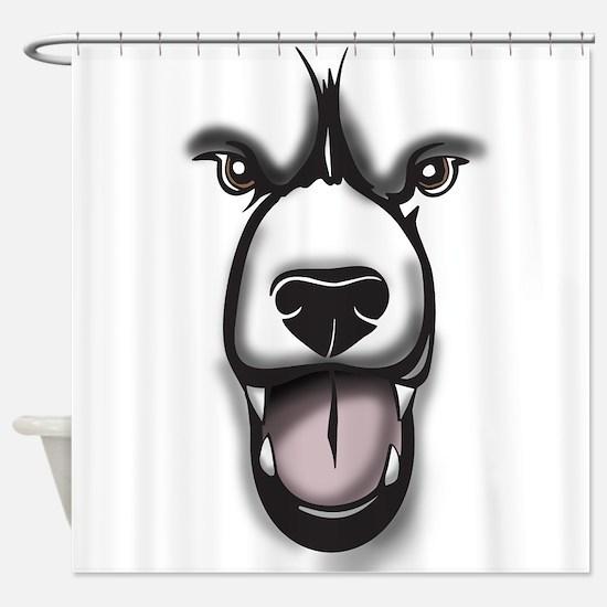 Bear Face Shower Curtain