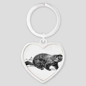 Ground Hog Day Keychains