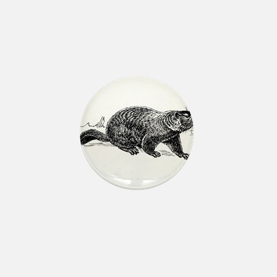 Ground Hog Day Mini Button