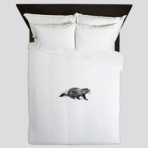 Ground Hog Day Queen Duvet