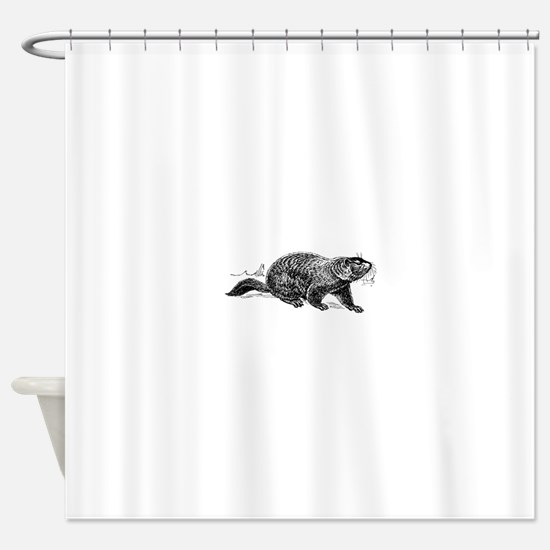 Ground Hog Day Shower Curtain