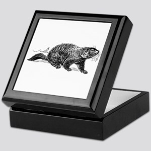 Ground Hog Day Keepsake Box