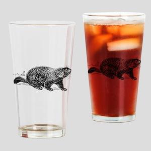 Ground Hog Day Drinking Glass