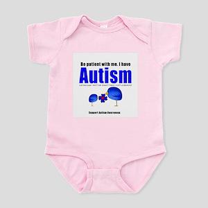 Be patient with me Infant Bodysuit