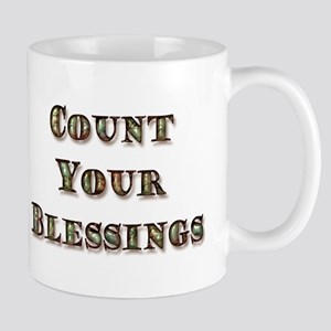 Count Your Blessings 11oz. Mug