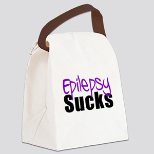 Epilepsy Sucks Canvas Lunch Bag