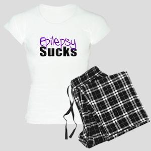 Epilepsy Sucks Women's Light Pajamas