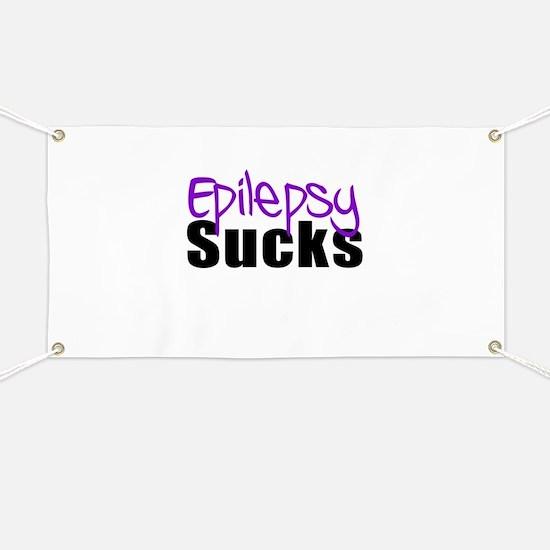 Epilepsy Sucks Banner