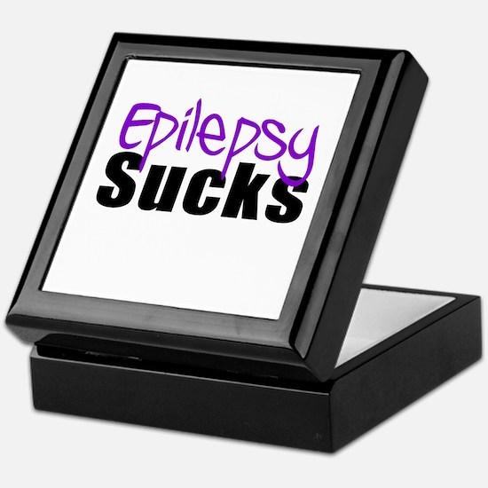 Epilepsy Sucks Keepsake Box