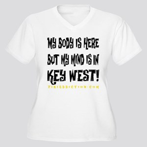IN KEY WEST - WHITE Plus Size T-Shirt