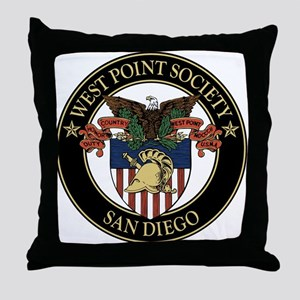 West Point Society of San Diego Throw Pillow