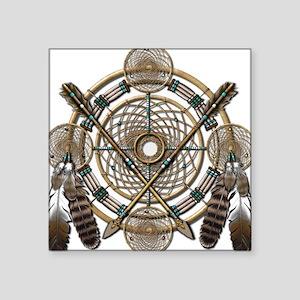 Dreamcatcher Medicine Wheel Sticker