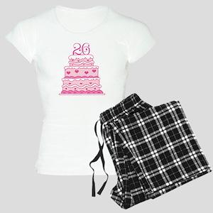 26th Anniversary Cake Women's Light Pajamas