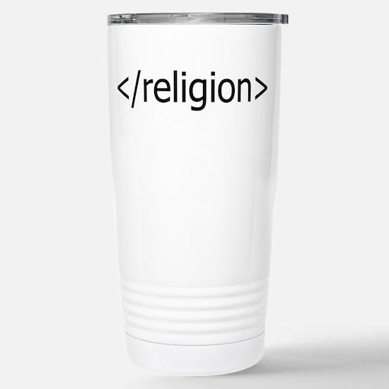 no religion Travel Mug