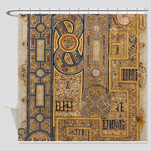 Book of Kells Shower Curtain