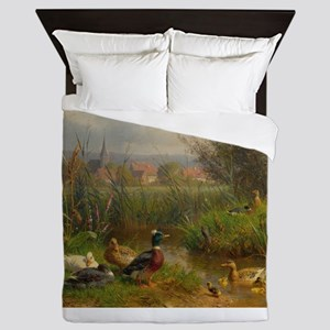 Little Swimmers Queen Duvet