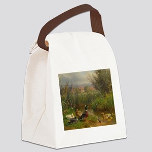 Little Swimmers Canvas Lunch Bag