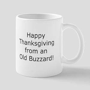 Happy TG from an Old Buzzard 11oz.Mug