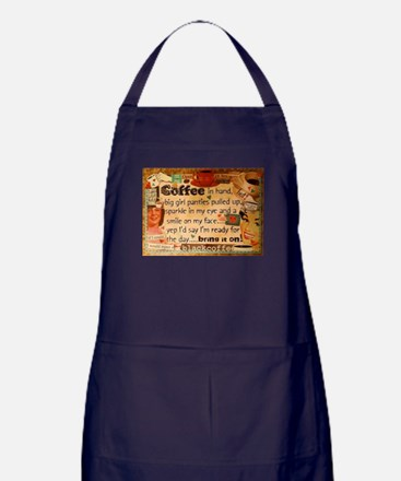 Coffee Love Apron (dark)