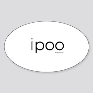 ipoo Oval Sticker