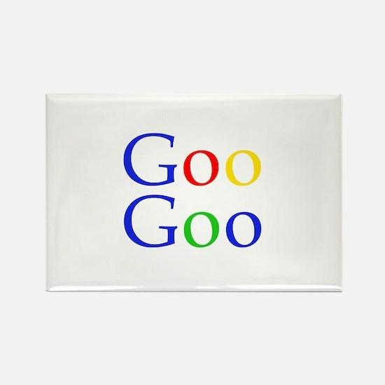 Goo Goo Rectangle Magnet
