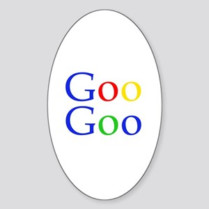 Goo Goo Oval Sticker