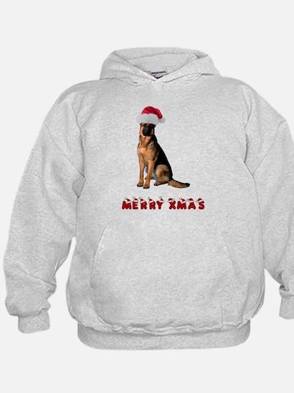 German Shepherd Christmas Hoodie