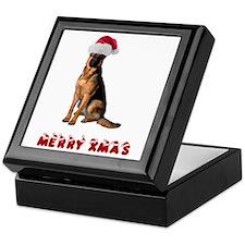 German Shepherd Christmas Keepsake Box
