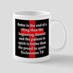 Ecclesiastes 7-8 11 oz Ceramic Mug